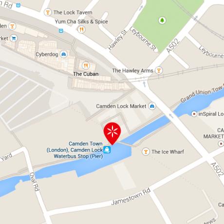 Camden Lock - Map